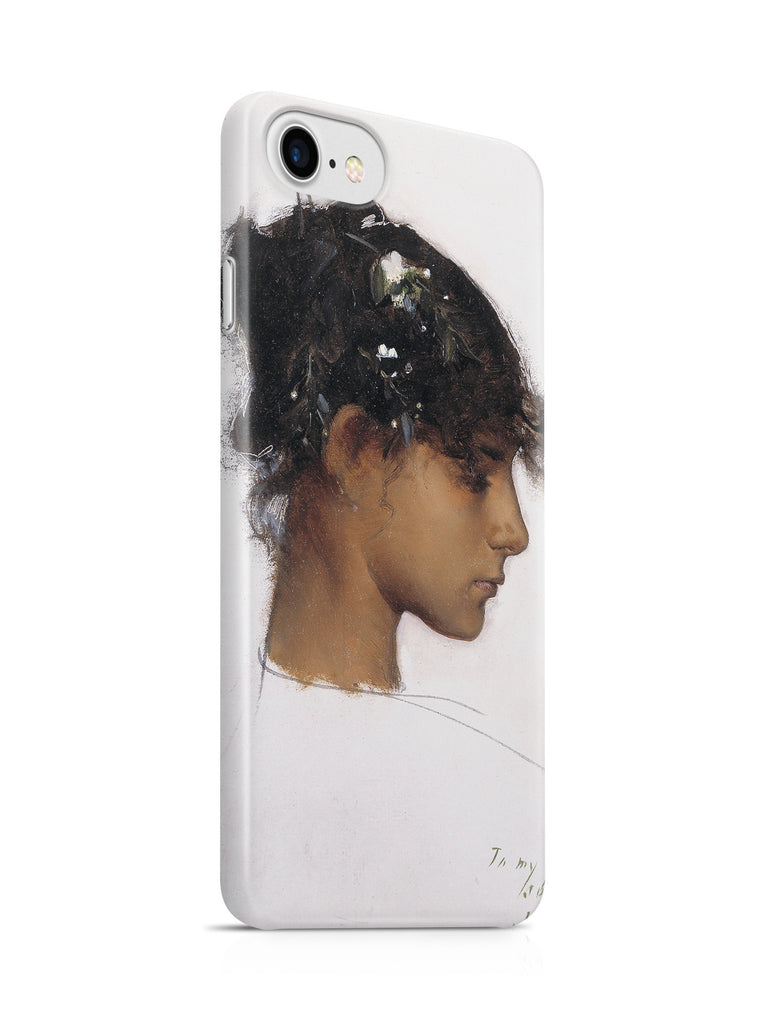 Vinteja Officially Licensed - Sargent - Rosina Ferrara, Head of a Capri Girl - Curated Case Cover For IPHONE 7