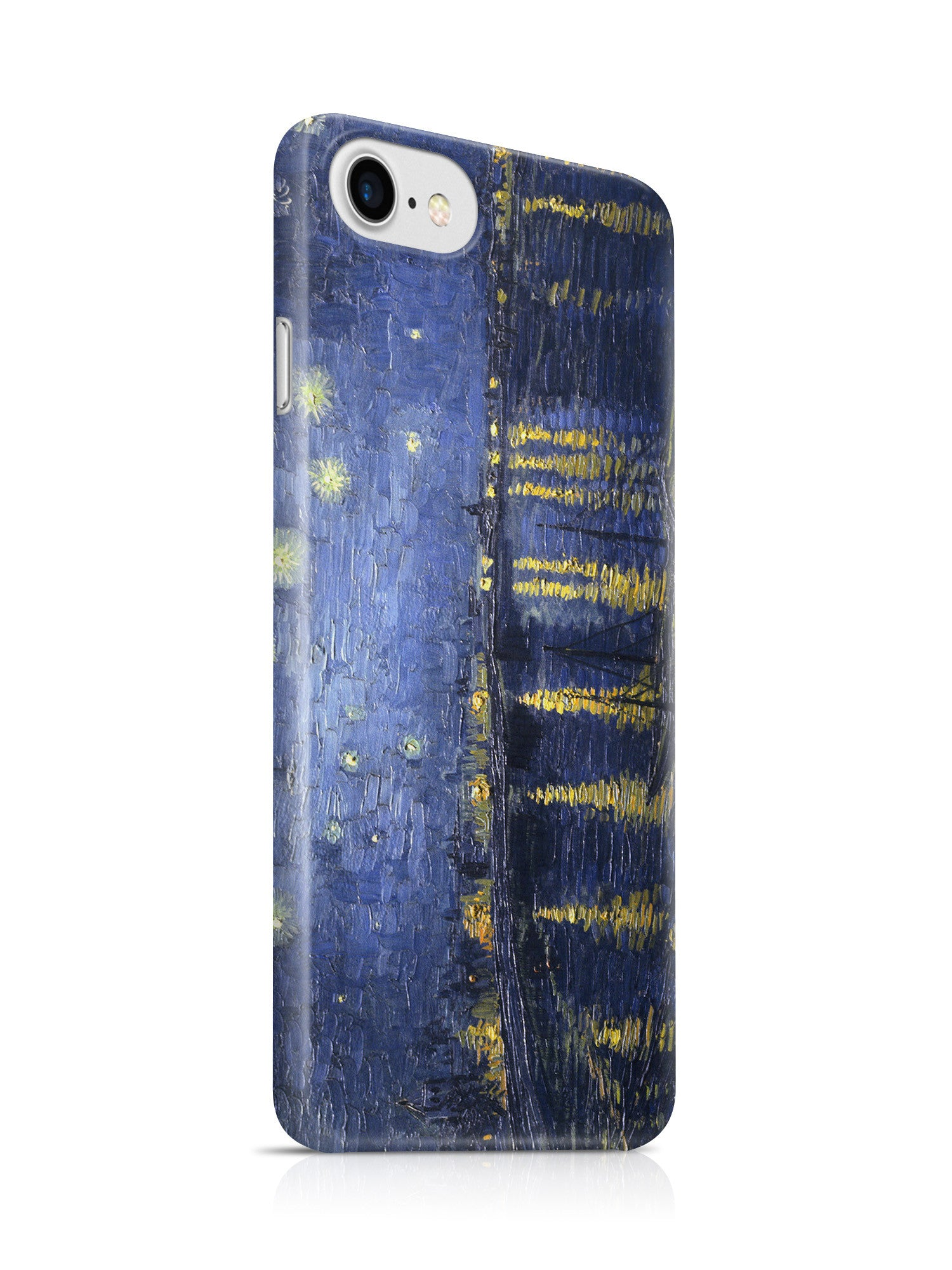 Vinteja Officially Licensed - Starry Night Over the Rhone by Van Gogh - Curated Case Cover For IPHONE 7