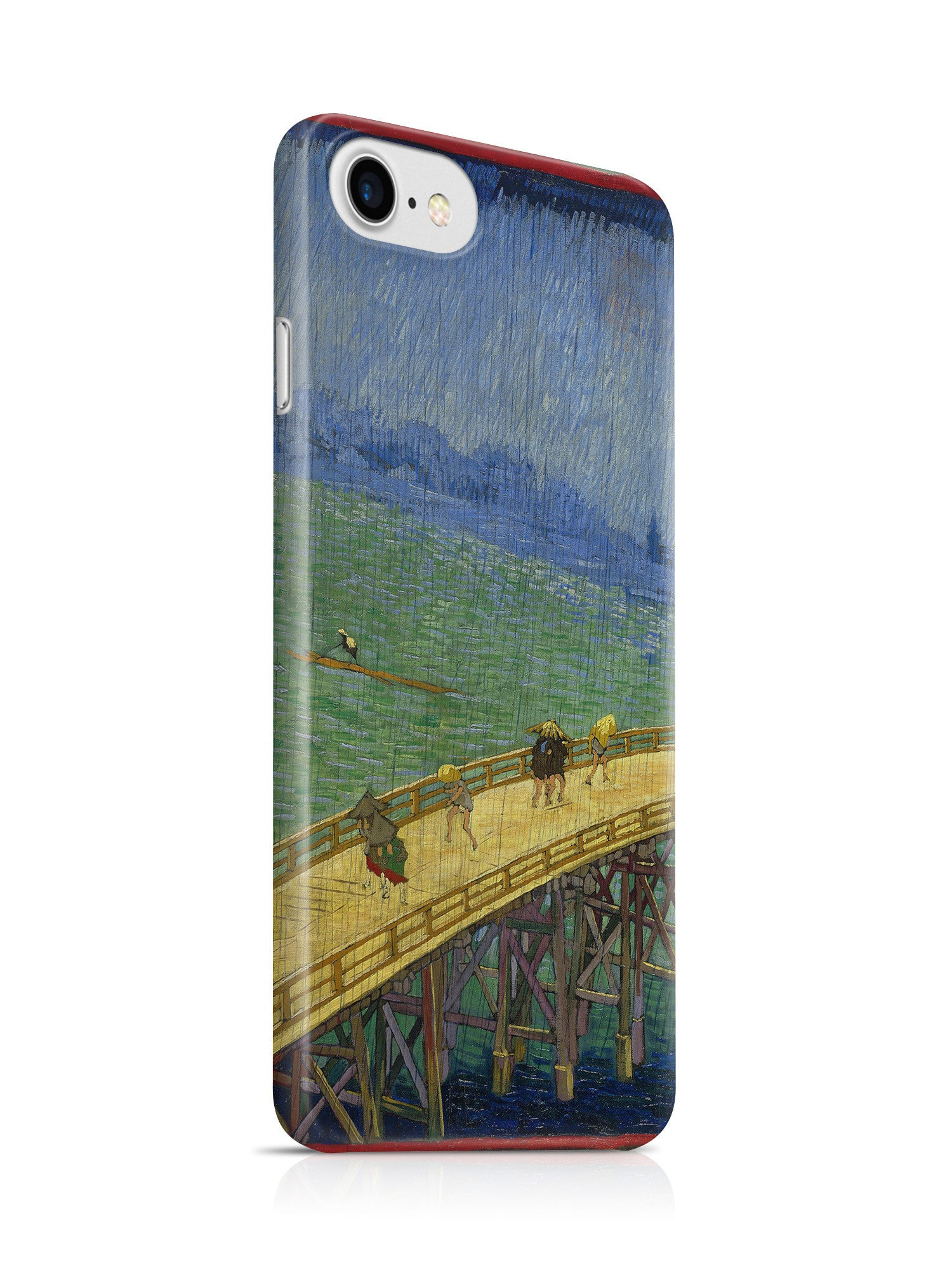 Vinteja Officially Licensed - Van Gogh - Bridge in the rain (after Hiroshige) - Curated Case Cover For IPHONE 7