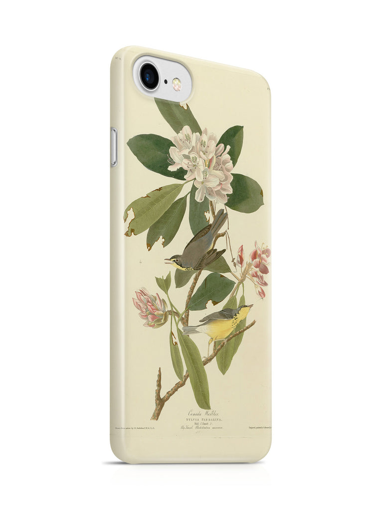 Vinteja Officially Licensed - Audubon - Canada Warbler - Plate 103 - Curated Case Cover For IPHONE 7