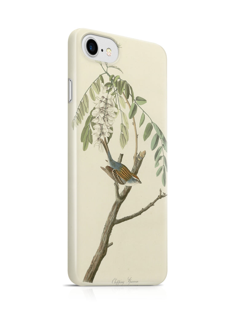Vinteja Officially Licensed - Audubon - Chipping Sparrow - Plate 104 - Curated Case Cover For IPHONE 7