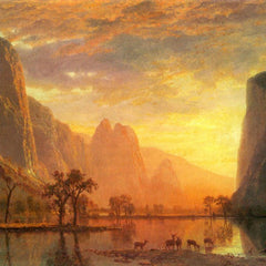 The Museum Outlet - Valley in Yosemite by Bierstadt