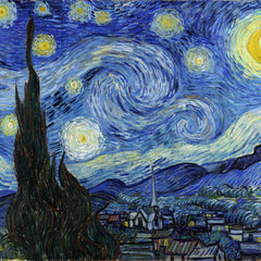 100% Hand Painted Oil on Canvas - Van Gogh - Starry Night