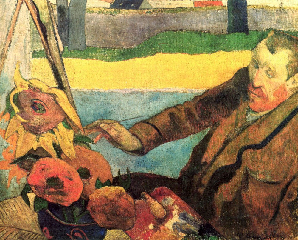 The Museum Outlet - Van Gogh Painting Sunflowers by Gauguin