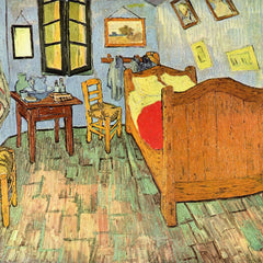 100% Hand Painted Oil on Canvas - Van Gogh's Bedroom by Van Gogh