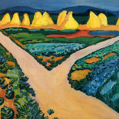 The Museum Outlet - Vegetable Fields by Macke