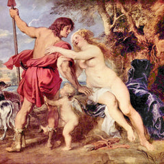 The Museum Outlet - Venus and Adonis by Rubens