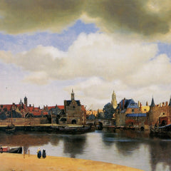 The Museum Outlet - View of Delft by Vermeer