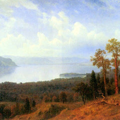 The Museum Outlet - View of the Hudson River Vally by Bierstadt