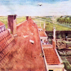 The Museum Outlet - View over the rooftops by Van Gogh
