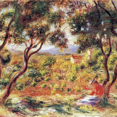 100% Hand Painted Oil on Canvas - Vines at Cagnes by Renoir