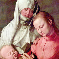 The Museum Outlet - Virgin and Child with St. Anne by Durer