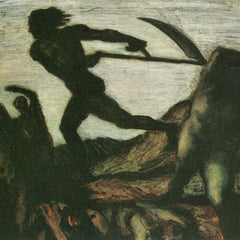 100% Hand Painted Oil on Canvas - Warrior by Franz von Stuck