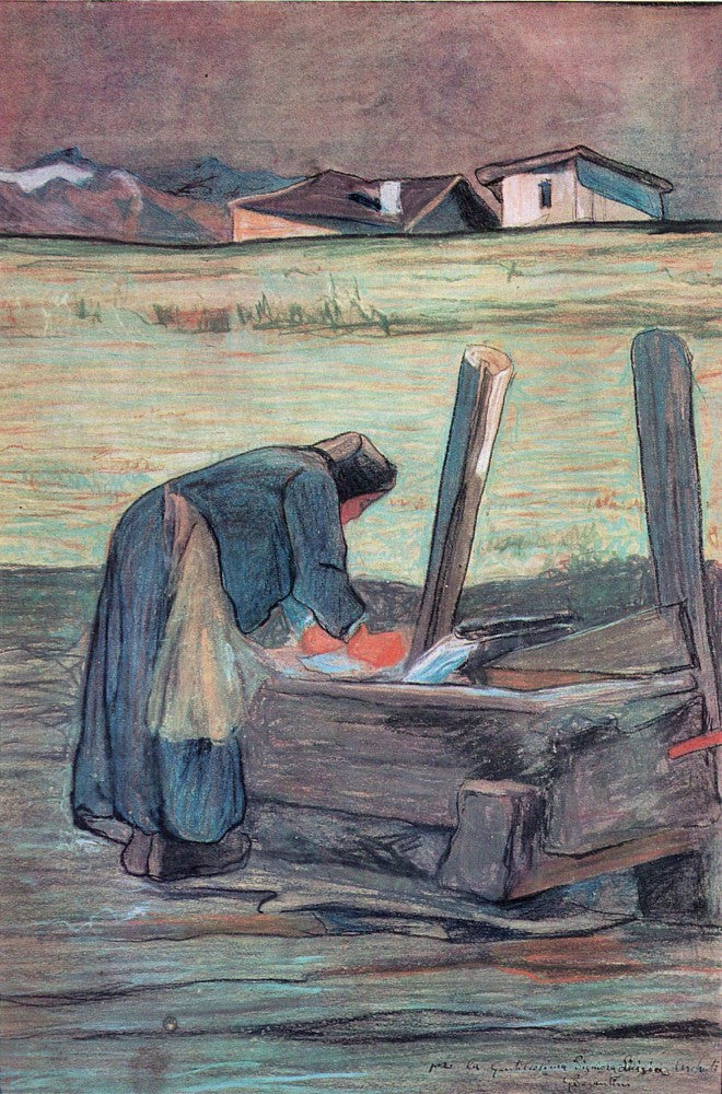 The Museum Outlet - Washer by Giovanni Segantini