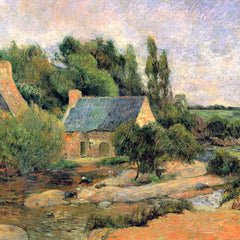 The Museum Outlet - Washerwomen at Pont-Aven by Gauguin