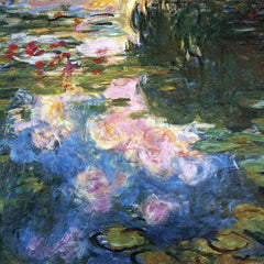 The Museum Outlet - Water Lillies # 4 by Monet