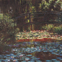 The Museum Outlet - Water Lily Pond #1 by Monet