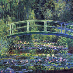 The Museum Outlet - Water Lily Pond #2 by Monet