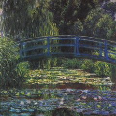 The Museum Outlet - Water Lily Pond #6_lg by Monet