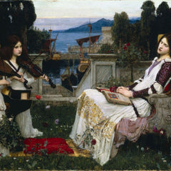 100% Hand Painted Oil on Canvas - Waterhouse - Cecilia