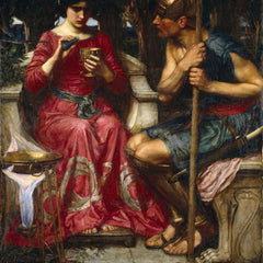 100% Hand Painted Oil on Canvas - Waterhouse - Jason and Medea