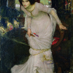 100% Hand Painted Oil on Canvas - Waterhouse - Lady of Shallot