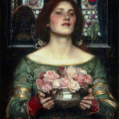 100% Hand Painted Oil on Canvas - Waterhouse - Rosebuds