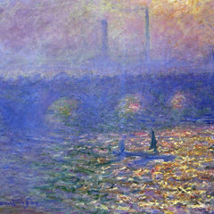 The Museum Outlet - Waterloo Bridge by Monet