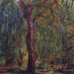 The Museum Outlet - Weeping willow by Monet