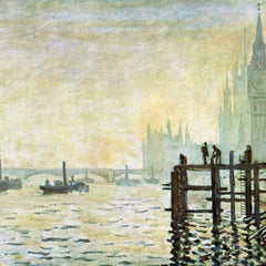The Museum Outlet - Westminster Bridge in London by Monet