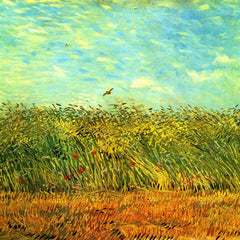 The Museum Outlet - Wheat Field with a Lark