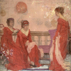 The Museum Outlet - Whistler - Harmony in Flesh Colour and Red