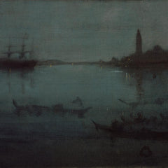 The Museum Outlet - Whistler - Nocturne in Blue and Silver - The Lagoon, Venice