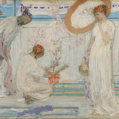 The Museum Outlet - Whistler - The white symphony with three girls