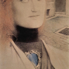 100% Hand Painted Oil on Canvas - Who will redeem myself by Fernand Khnopff
