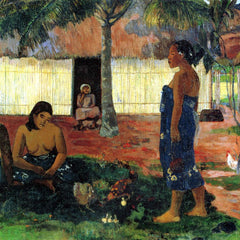 The Museum Outlet - Whya are you Angry by Gauguin