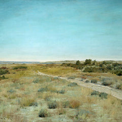 100% Hand Painted Oil on Canvas - William Merritt Chase - First Touch of Autumn