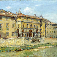100% Hand Painted Oil on Canvas - William Merritt Chase - Florence