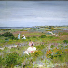 100% Hand Painted Oil on Canvas - William Merritt Chase - Shinnecock, Long Island