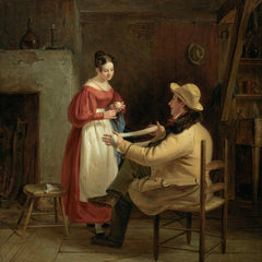 100% Hand Painted Oil on Canvas - William Sidney Mount - Winding Up