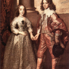 The Museum Outlet - William of Orange with his future bride by Van Dyck
