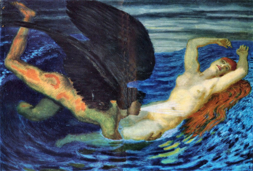 The Museum Outlet - Wind and Wave by Franz von Stuck