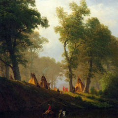 The Museum Outlet - Wolf River, Kansas by Bierstadt