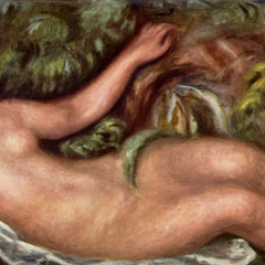 100% Hand Painted Oil on Canvas - Woman Reclining by Renoir