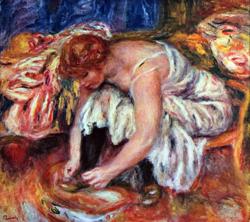 The Museum Outlet - Woman Shoe Syndicate by Renoir