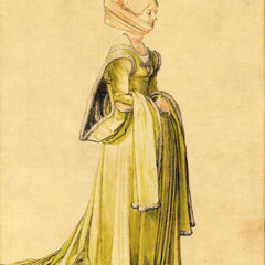 The Museum Outlet - Woman dressed up by Durer