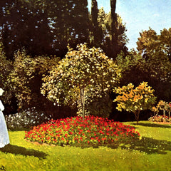 The Museum Outlet - Woman in the garden