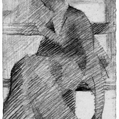 100% Hand Painted Oil on Canvas - Woman on a bench by Seurat