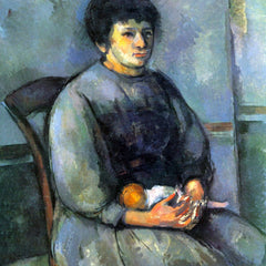 The Museum Outlet - Woman with Doll by Cezanne