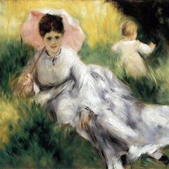 The Museum Outlet - Woman with Parasol by Renoir